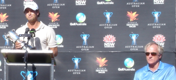 Those personal words muttered by Greg Norman to Adam Scott perhaps best sum up his first major win on home soil.