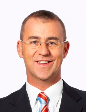 Ten Sports Commentator Andrew Maher