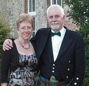 Brian and Catriona Luckhurst