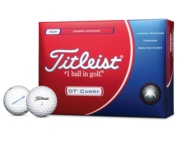 """Titleist says it went to lots of trouble to research its new range of DT Carry and DT Roll golf balls with """"average golfers"""""""