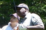 Delroy in control at Senior PGA Championship