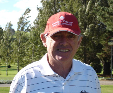 NSW Veteran Golfers Association President Dick Farrant