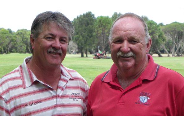Combatants Greg Kent and Ron Hall