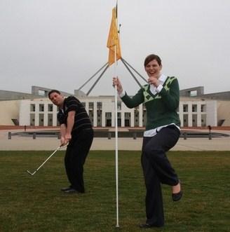 Kate Ellis flag dancing