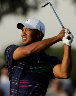 Woods hasn't played since the 2009 Australian Masters