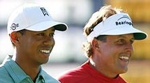 Our prediction for the US Open Golf at Torrey Pines - the US television networks will drive themselves into a state of ecstatic apoplexy over the opportunity of having Tiger Woods and Crazy Phil Mickelson paired together for the first two rounds. Updated: First round wrap up.
