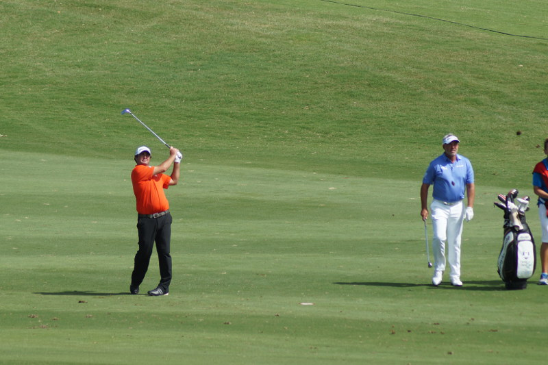 Steven Bowditch and Darren Clark