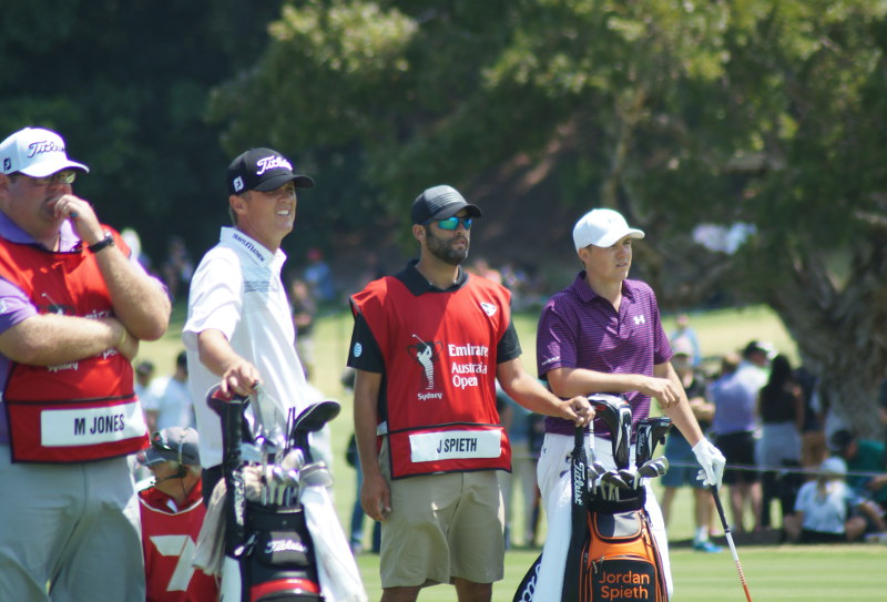 Matt Jones and Jordan Spieth face off in the final round