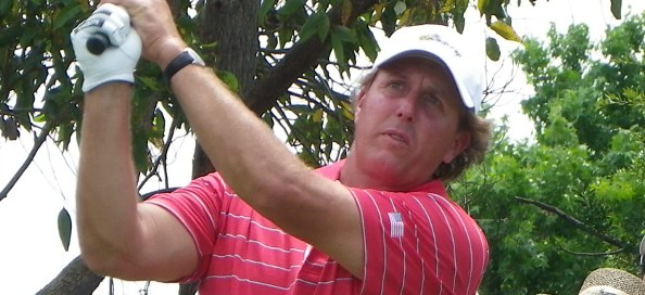 """US team member Phil Mickelson said the golf course was """"awesome"""" as the Internationals fought back on day two of the 2011 Presidents Cup."""