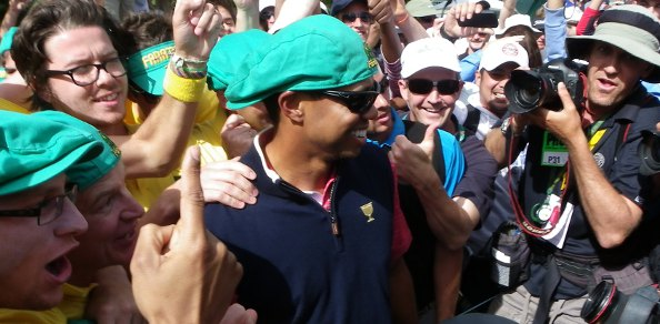 IN the end, Freddie Couples and his US Team even conquered the Fanatics Aussie cheer squad at Royal Melbourne on the final day of the 2011 Presidents Cup.