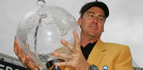 THE wind at times became almost strong enough to blow the checks off his trousers but in the end Ian Poulter had the stability to produce an almost flawless round of golf to take the 2011 JBWere Masters at the Victoria Golf Club.