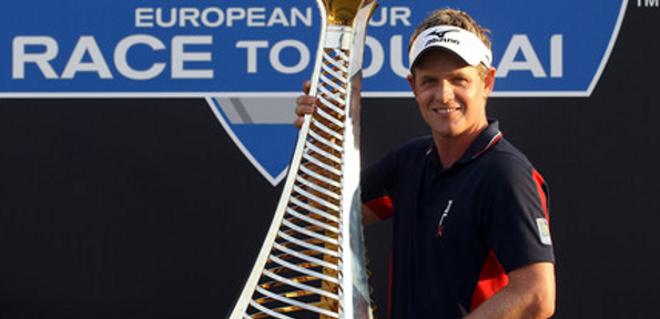 LUKE DONALD has become the first ever golfer to capture both the American and European money titles in the same year.