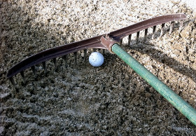 Rules of Golf bunker question