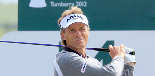 THE UNSTOPPABLE Bernhard Langer has claimed his 18th US Champions Tour title with a three stroke victory at the 2013 Greater Gwinnett Championship at the TPC Sugarloaf near Atlanta.