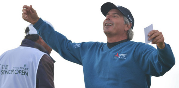 THE LAST TIME Senior British Open defending champion Fred Couples played a golf major at Royal Birkdale he was beaten by two Aussies. Lets hope that's an omen for this week.