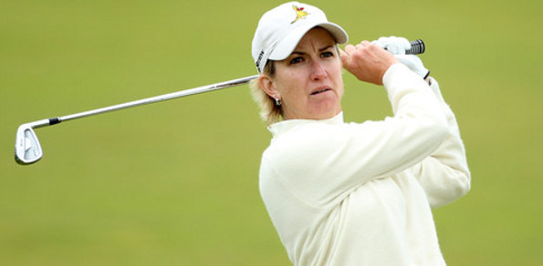 KARRIE WEBB probably couldn't be more in form heading into the 2013 Ricoh Women's British Open at St Andrews this week. Nine Aussies are taking part.