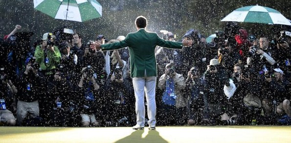 Adam Scott and his US Masters green jacket will be touring at least two Australian states in November
