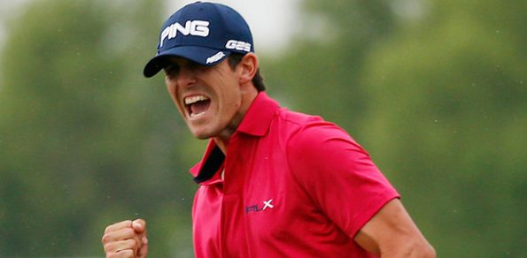 AMERICA'S Billy Horschel sunk a 27 foot pressure putt to take the 2013 Zurich Classic of New Orleans and secure his maiden US PGA Tour victory. Matt Jones was the best placed Aussie,