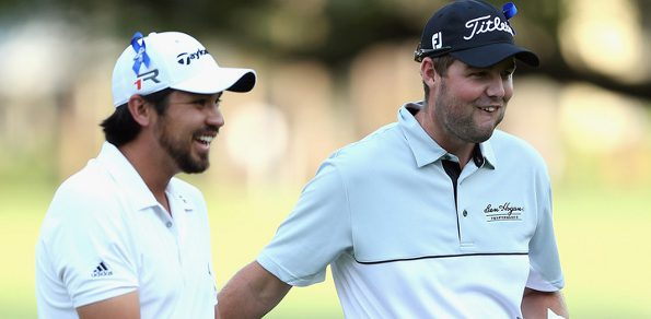 Jason Day and Marc Leishman ... two of the Aussies lining up New Orleans this week