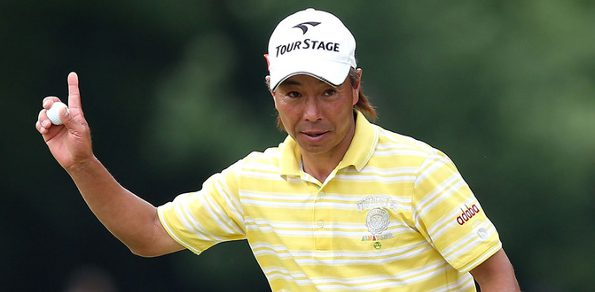 """ON HIS FIRST EVER trip to the US, Japanese golfer Kohki Idoki has pulled off a """"major"""" surprise at the 2013 US Senior PGA Championship in St Louis."""