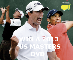 Adam Scott Masters Ad