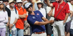 Adam Scott a crowd favourite at the Australian  Golf Club in Sydney in 2014