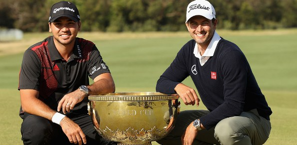 Jason Day and Scott World Cup 595