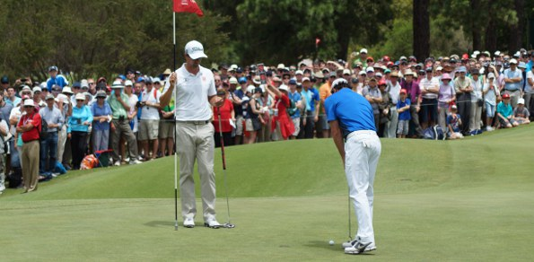 Scott and McIlroy playing in the Saturday comp?