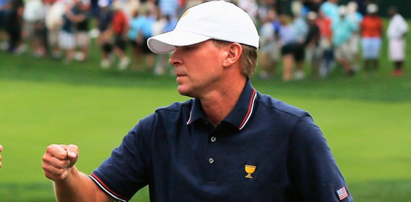 """Steve Stricker has controversially missed out on a """"Larry"""" in 2013"""