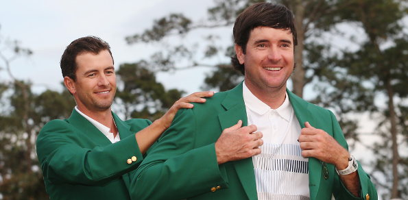Bubba Watson dons second Masters Green Jacket