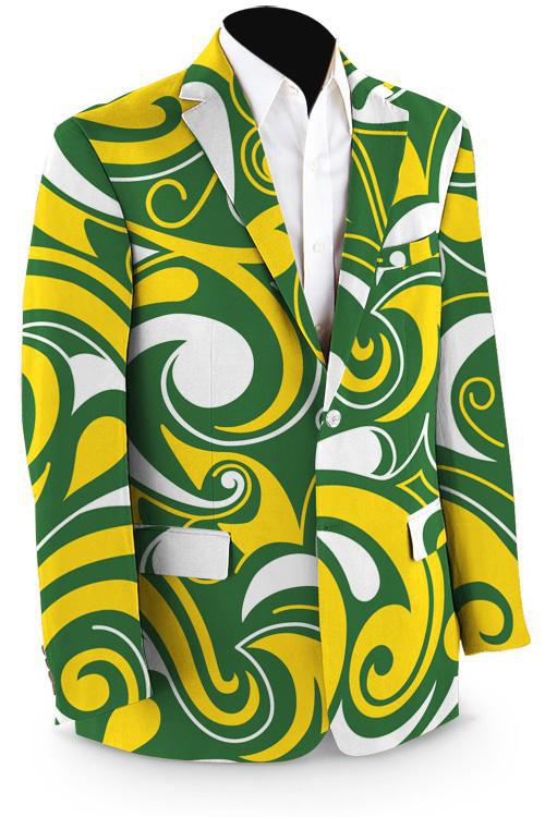 Loundmouth greengoldsplashsportcoat 500