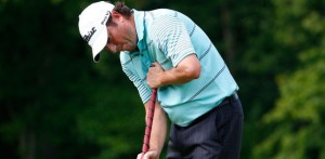 "Tim Clark has used a long putter since his teens ""out of necessity""."