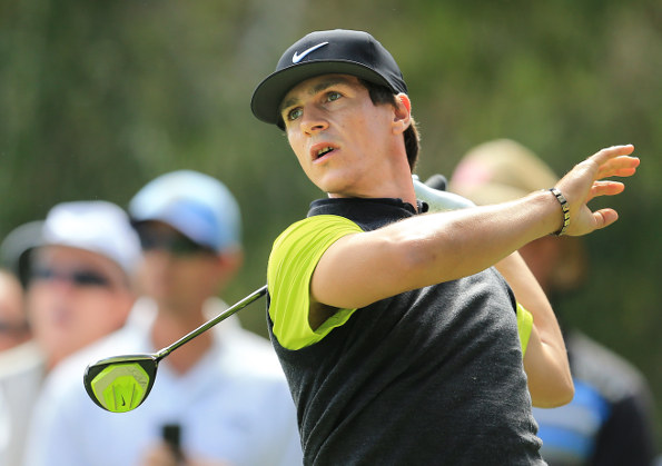 Second-placed Thorbjorn Olesen feeling confident of a good weekend. PHOTO SMP IMAGES/IMG MEDIA