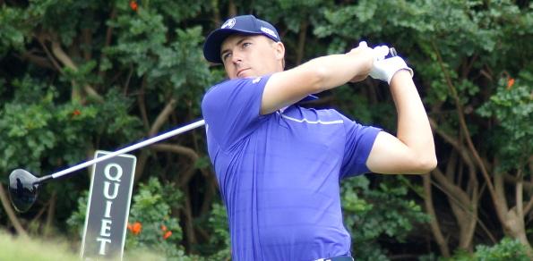 Jordan Spieth found the Australian Golf Club to  his liking