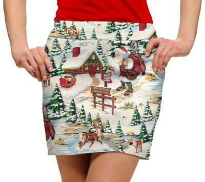 Loudmouth_North Pole skirt
