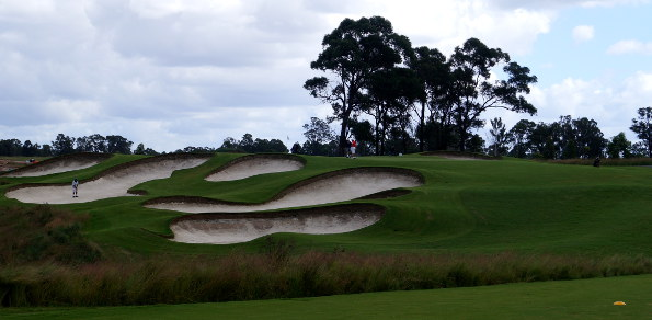 The inspiring Stonecutters Ridge Golf Course was also the recent venue for the 2014 NSW Open
