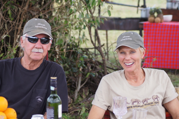"Bob and wife Lucy are now active in business, including their ""African Adventures"" Golf and Safari Tours"