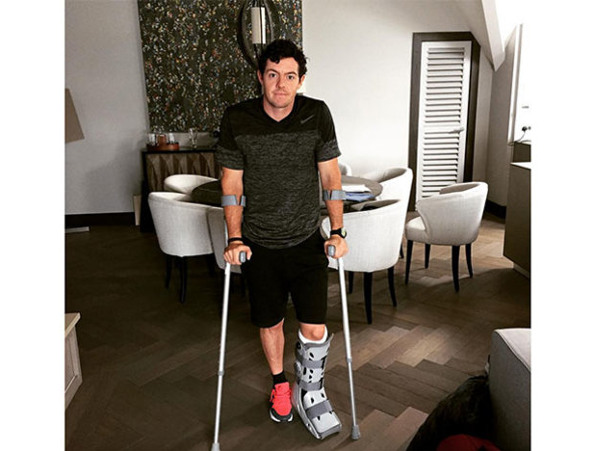 rory mcilroy  ankle injury  595 large