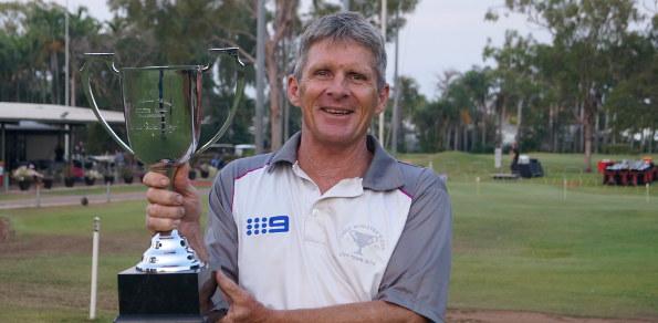 Darwin Golf Club member Tom Harold