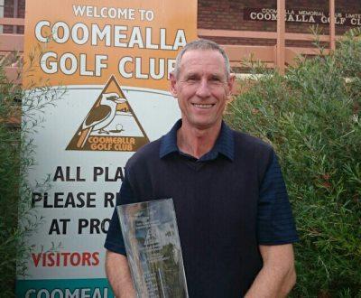 Coomealla Senior Open Winner Greg Rhodes