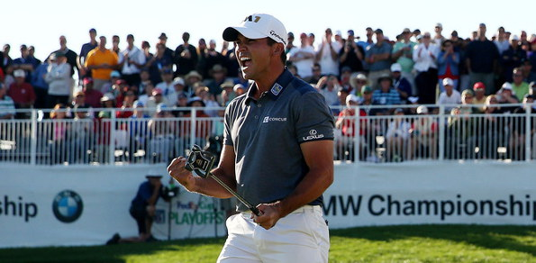 Jason Day realises the world No.1 dream