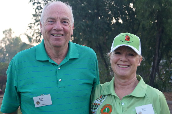 Tournament Director Brian Nankivell and his wife Vera will be welcoming vets to the Adelaide hills in November