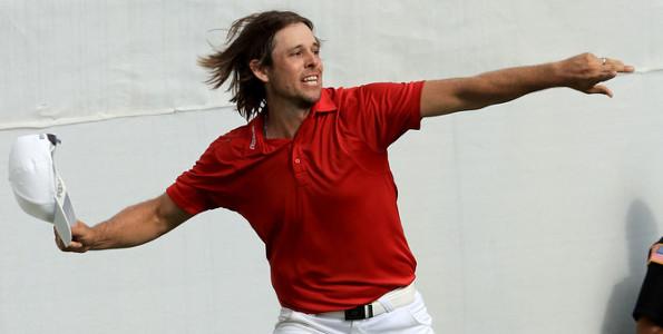 Aaron Baddeley win 2016
