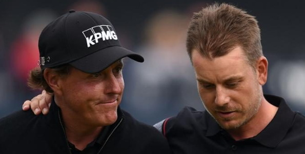 Stenson wins classic duel with Mickelson: 2016 British Open
