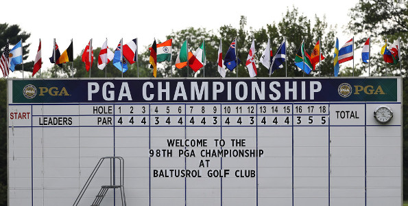 2016 US PGA Championship: Australian TV Times