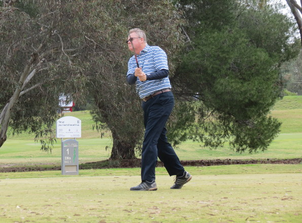 Stephen Valentine winner of the 2016 Tocumwal Senior Amateur