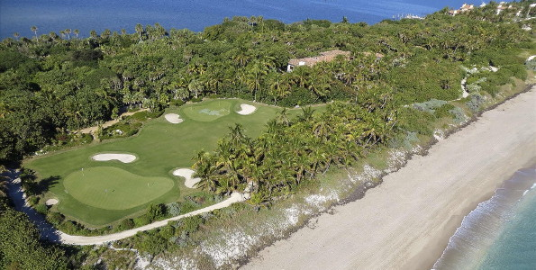 Florida golf mansion