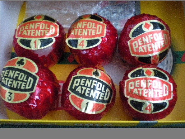 Penfold golf balls 595