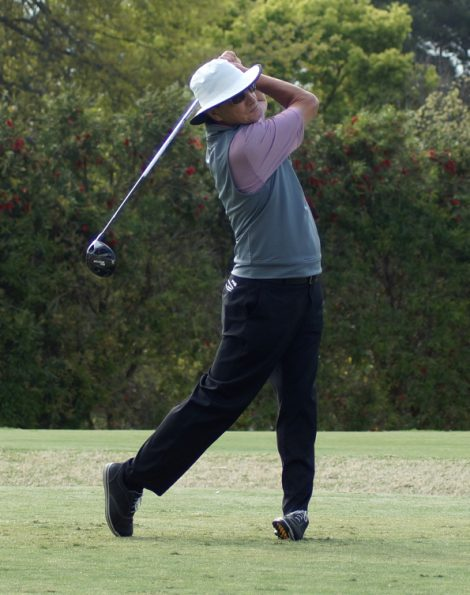 After blowing out with an 82 with his opening round on Tuesday, Stefan Albinski from the Mona Vale Golf Club on Sydney's northern beaches fought back with a round of the tournament 4-under 68. The three time champion was co-leader going into the final round