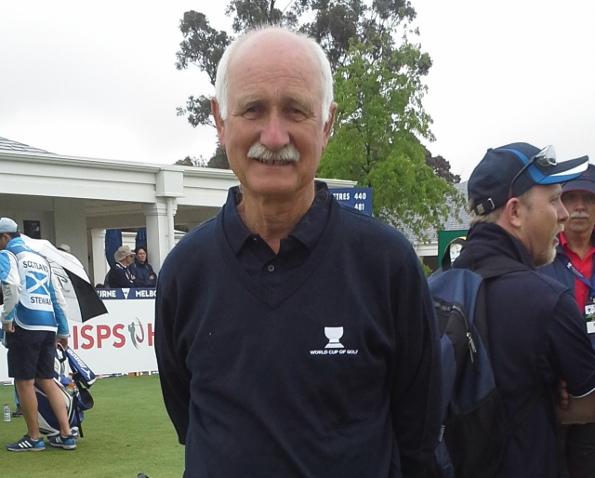 Kingston Heath Club Captain Peter Clark